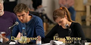 First pictures of Emma Watson's 'Beauty and the Beast'