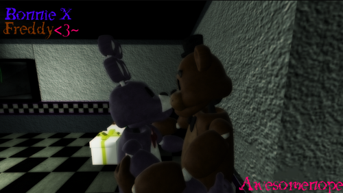 Five Nights at Freddy's kertas dinding possibly containing a sign and a jalan entitled Five nights of shipping