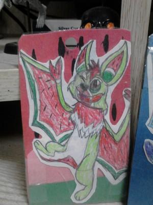 Furry Bat Cards 1