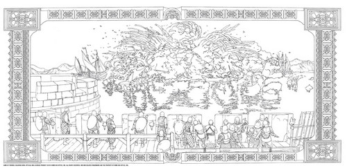 Game of Thrones wallpaper called Game of Thrones - Coloring Book