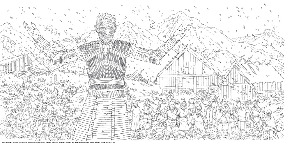 Game of Thrones images Game of Thrones - Coloring Book HD wallpaper ...