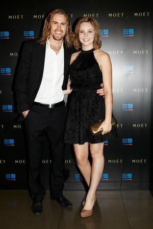 Geordie Robinson モーガン, モルガン Griffin Moet Chandon Oscars Party 2012