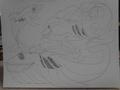Ghost Whale Pokemon - mariposa-region-rpg fan art