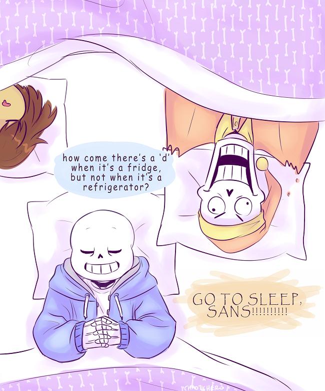 Go To Sleep Undertale Fan Art 39812797 Fanpop