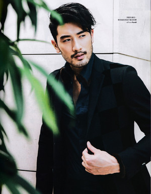Godfrey for Elle Men HK
