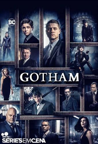 Gotham wallpaper containing anime entitled Gotham - Season 3 Poster