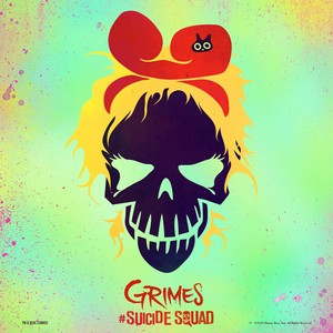 "Grimes - ""Medieval Warfare"" Single Art"