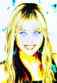 Hannah Montana Bright Eyes - miley-cyrus fan art