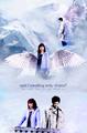 Hannah and Castiel - supernatural fan art