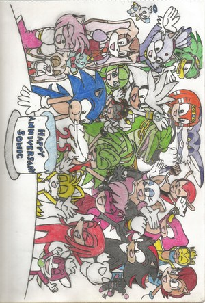 Happy 25th Anniversary, Sonic!