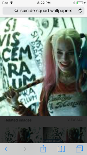 Suicide Squad wallpaper containing a portrait entitled Harley Quin
