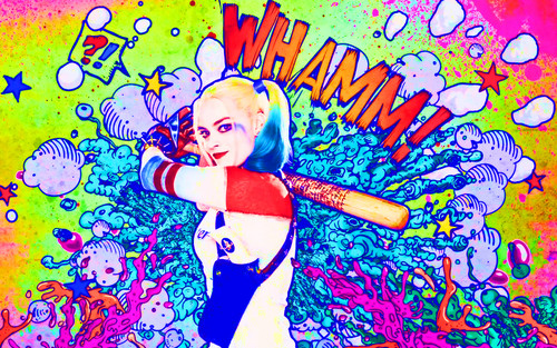Suicide Squad wallpaper with animê entitled Harley Quinn