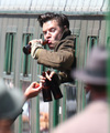 Harry filming Dunkirk - harry-styles photo