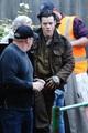 Harry on the set of Dunkirk - harry-styles photo