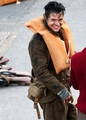 Harry smiling on the set of Dunkirk - harry-styles photo