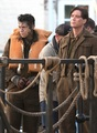 "Harry with co-star Cillian Murphy on the set of ""Dunkirk"" - harry-styles photo"