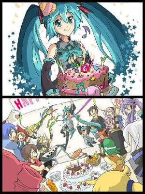 Hatsune Miku Happy Birthday