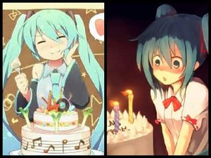 Hatsune Miku Happy Birthday