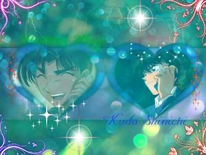 Heiji and Shinichi....