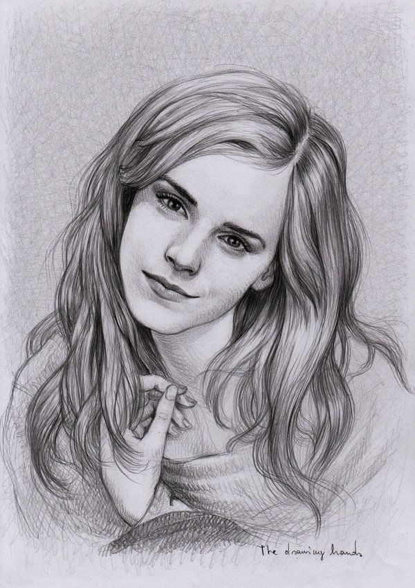 Hermione Realistic Drawing