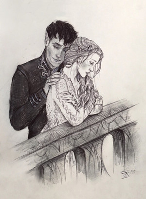 High Lord and Lady によって lizthefangirl on deviantart
