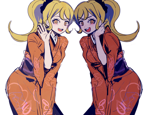 Dangan Ronpa wallpaper entitled Hiyoko Saionji Grown Up