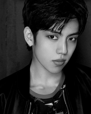 INFINITE drop sultry black and white teaser चित्रो of Sunggyu and Dongwoo!