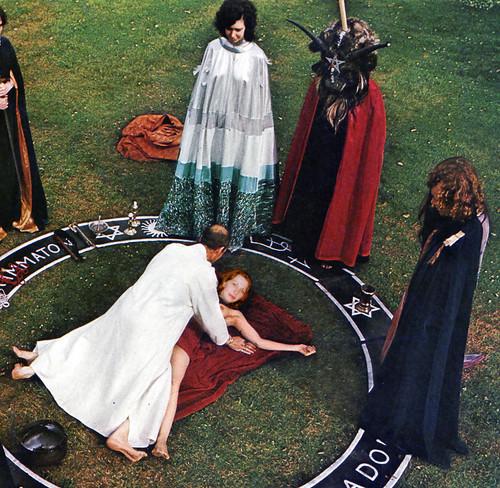 Anton Szandor LaVey wallpaper entitled Ilaria satanic sex ritual