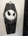 Jack Skellington Coffin Art - nightmare-before-christmas fan art