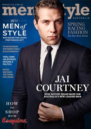 Jai Courtney - Men's Style Australia Cover - Spring 2016