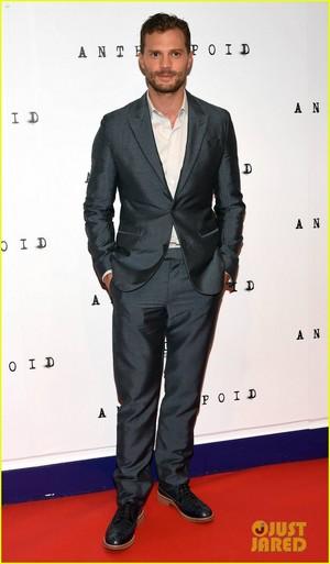 Jamie Dornan Premieres 'Anthropoid' in Dublin