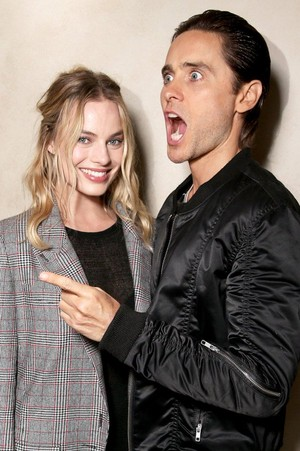 Jared Leto and Margot Robbie 2