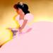 Jasmine in Lottie's pink ballgown - disney-princess icon