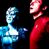 Star Trek (2009) photo containing anime entitled Jaylah and Scotty