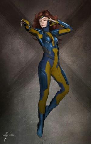 Jean Grey - Concept Art