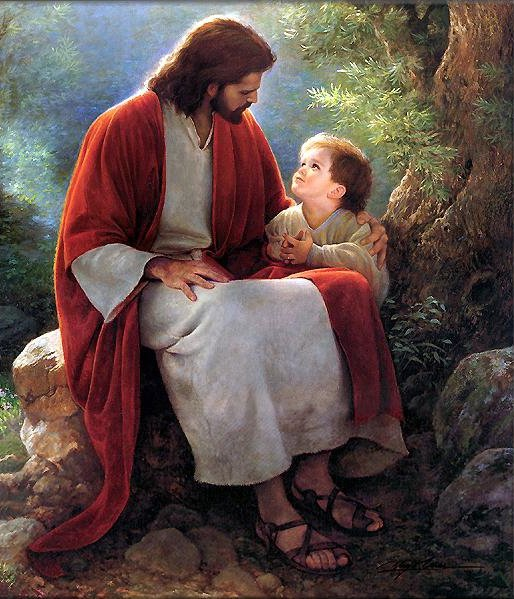 Jesus And Little One