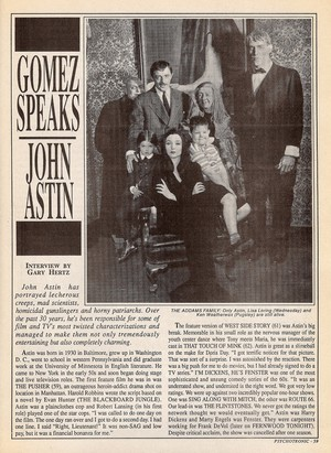 John Astin interview (page 1 of 4)
