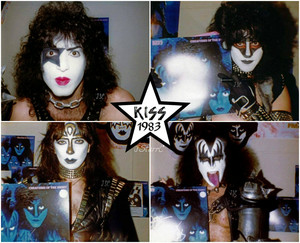 Kiss 1983 (Creatures of the Night promo)