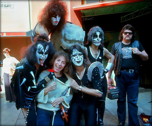 KISS ~Hollywood, California…February 24, 1976 (Graumans Chinese Theater)