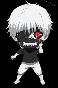 tokyo ghoul fondo de pantalla called Kaneki chibi