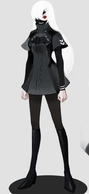 "Kaneki genderbend ""Kendra Kenaki"""