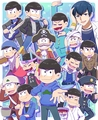 Karamatsu - anime fan art
