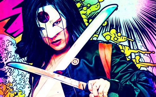 Suicide Squad fondo de pantalla with anime entitled Katana