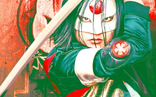 Suicide Squad kertas dinding possibly containing Anime titled Katana