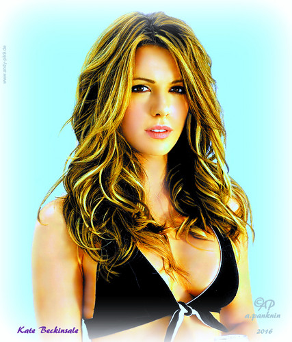 kate beckinsale sexy portrait