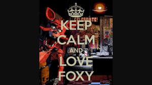 Keep calm and l'amour Foxy