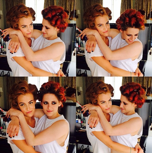 Kristen Is Participating In The buildOn Campaign With Riley Keough