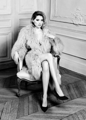 Lea Seydoux - Harper's Bazaar Photoshoot - September 2016
