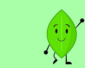 Leafy Hintergrund