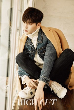 Lee Jong Suk for 'High Cut'